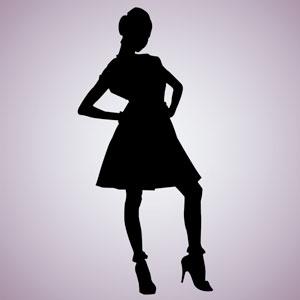 Confident Woman Pose