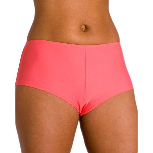 new womens ladies coral orange high waist swimwear bikini
