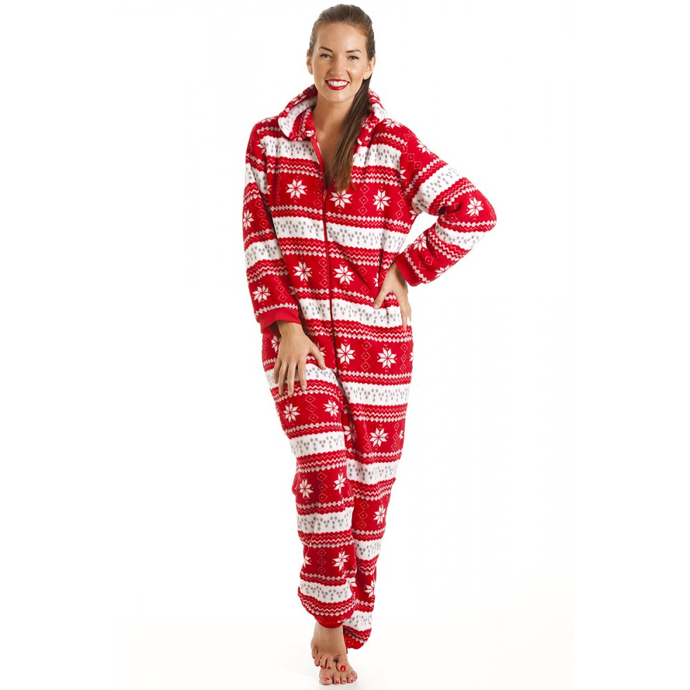 Women's Onesies Keep the onesie fun going with our collection of women's onesies at Camille. Choose from cuddly fleece onesies perfect for snuggling up on the sofa, or light cotton onesies .