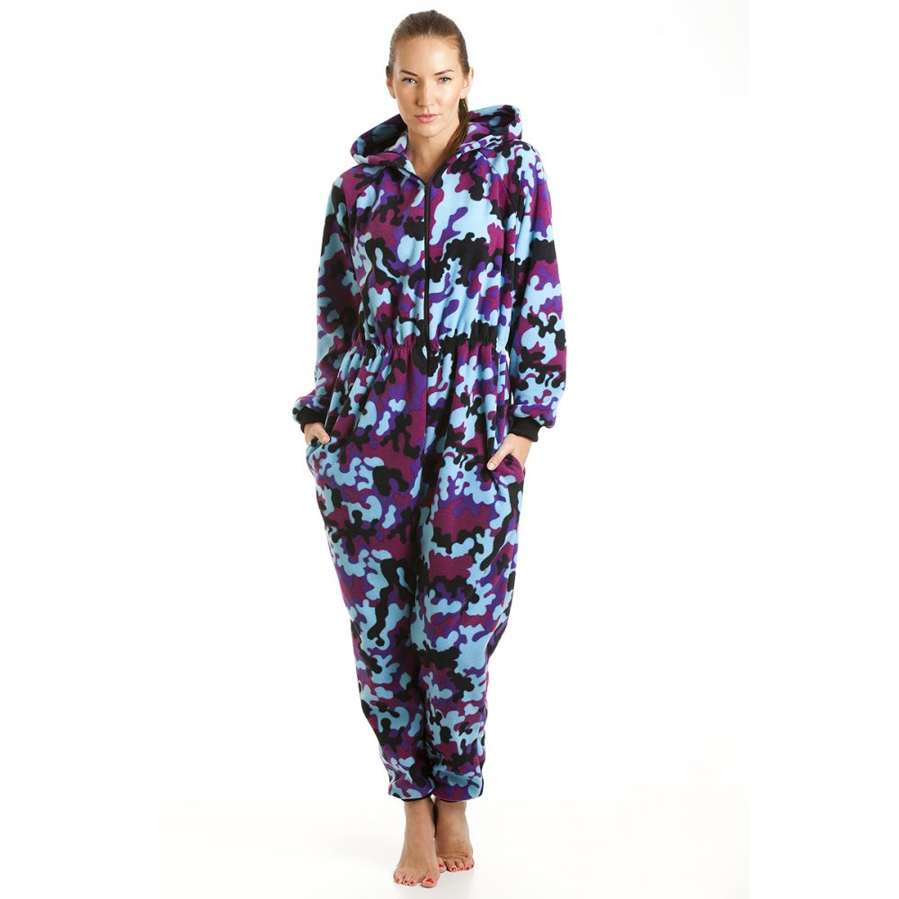 Onesie pajamas are just how you remember: cozy pajamas that are all one piece, sometimes even including a hood and enclosed feet. With your own adult onesie pajamas, you can have a fun and whimsical sleepover party with your friends or simply use them for lazy days around the house.