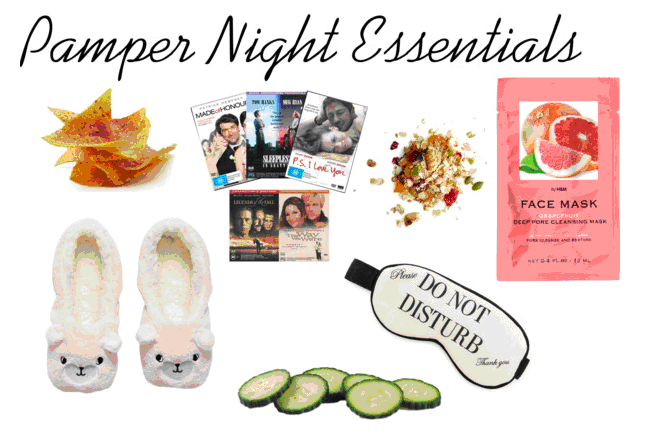 Pamper Night - Camille