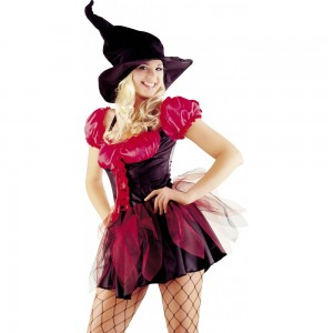 Red Witch Fancy Dress