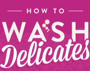 How to Wash Delicates Title