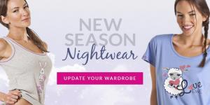 New Season Nightwear at Camille