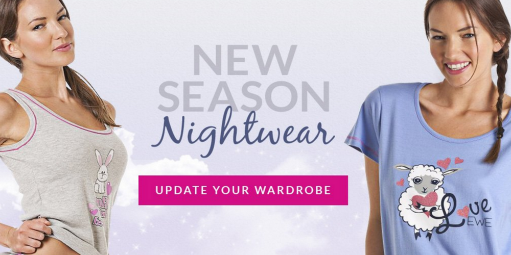 New Season Nightwear at Camille