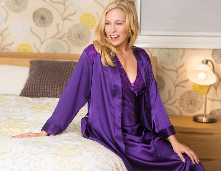 Jewel Toned Lingerie & Nightwear