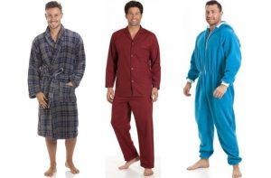 mens nightwear, mens pyjamas, mens pyjama sets, mens dressing gowns, mens onesies