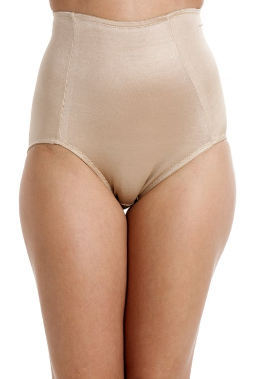 Camille Beige Shapewear Full Support Control Briefs