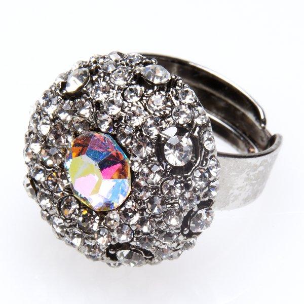 Womens Ladies Fashion Jewellery Aurora Borealis Stone With