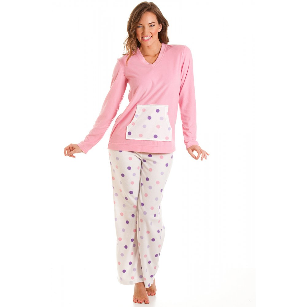 Adonna Womens White Red & Gray Leaf Fleece Pajamas Floral Holly Sleep Set. Sold by The Primrose Lane. $ $ Hanes Women's Polar Fleece Dog Print Pajama Set. Sold by flip13bubble.tk $ $ Cozy Loungewear Women's Printed Minky Fleece Pajama Pant with Plus Sizes.