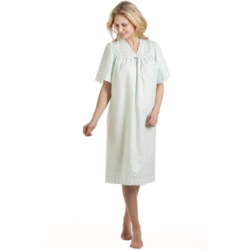 Camille womens ladies luxury mint short sleeved