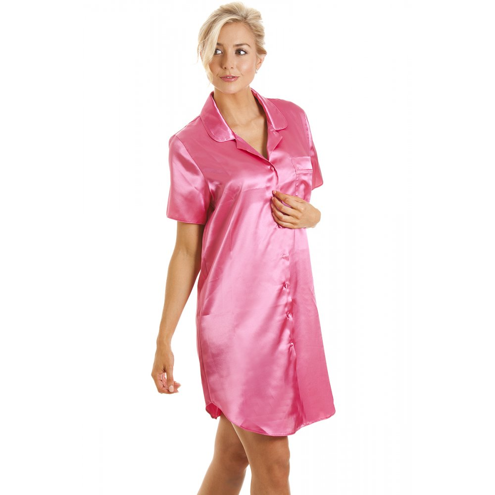 Our luxury silk nightwear is made from the gorgeously finest seamless mulberry charmeuse silk. It has a heavy weight of 22 momme with a thread count - Amazingly cool silk, you can feel the quality the moment you wear it.