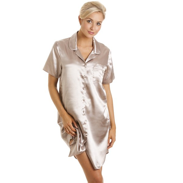 Nightgowns Nightshirts for Women,Plaid Classic Nightgown Warm Sleepwear Lounge Dress S-XXL. from $ 11 99 Prime. out of 5 stars 3. SANMADROLA. Women's Flannel Boyfriend Nightshirt Button Down Nightgown Mid-Long Style Sleepshirt. from $ 21 00 Prime. out of .