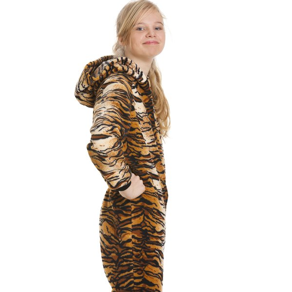Tiger Costumes. From the popular Winnie the Pooh, here is Tigger. Just like a lively, happy child T igger walks and bounces about. Sure to fit in with the personality, joy and verve that your kid brings to you, this is an ideal onesie to buy for your kid or gift a kid in your life.