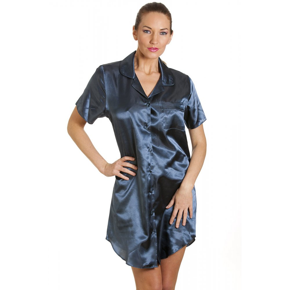 This Silk Nightshirt is made from premium quality, double knit, stretch silk. Ideal for outerwear and nightwear, it is supremely comfortable and looks wonderful. It has a natural sheen, drapes beautifully and is non-transparent.