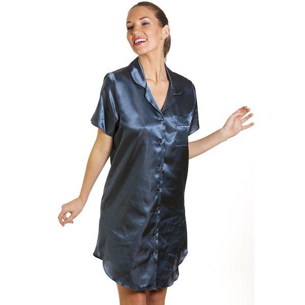 5 reviews for Satin Nightshirts For Women Ladies faux Silk Sleeping Dress female Nightdress Sleepwear Pijama Pyjama Nightwear summer nightgown. Rated 5 out of 5.