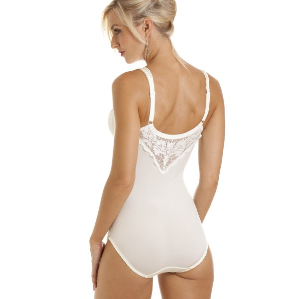 good selling most popular san francisco Camille Ivory Underwired Non Padded Floral Lace Shapewear Body