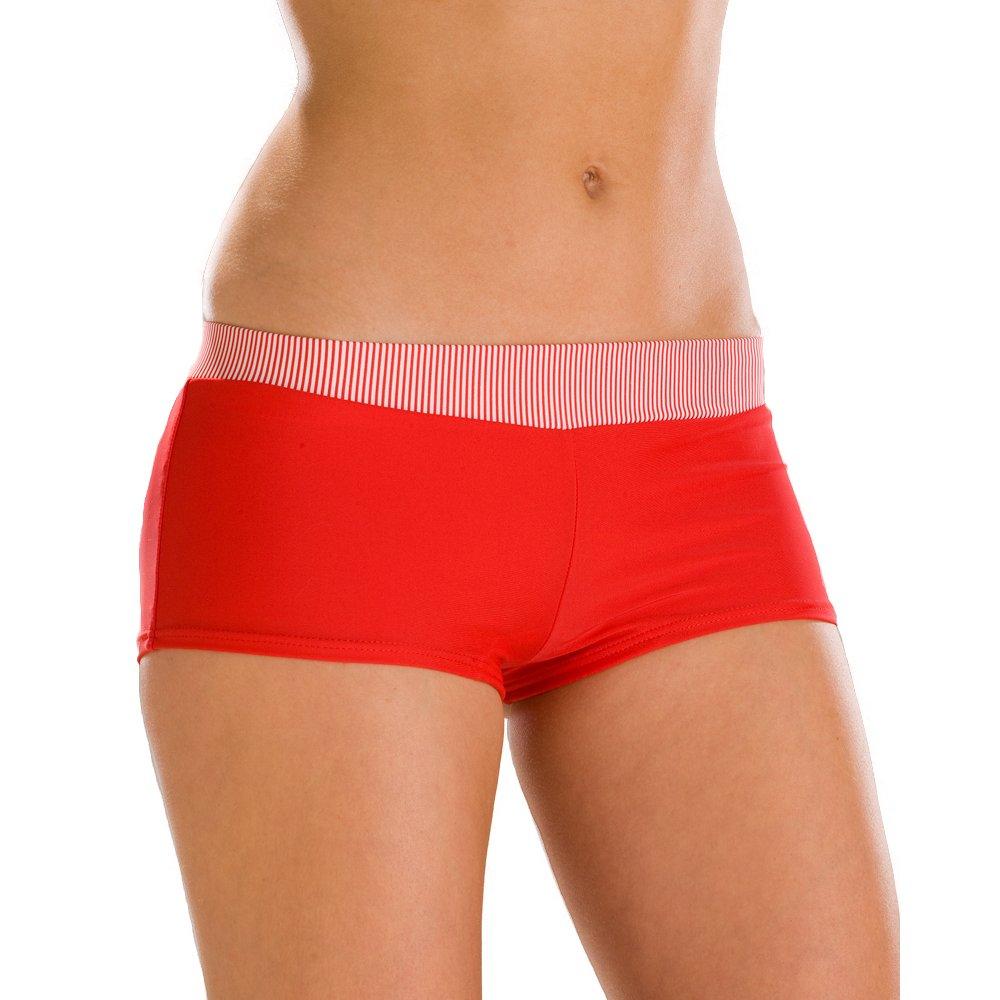 New Womens Camille Red Classic Ladies Stretch Swimwear Bikini ...