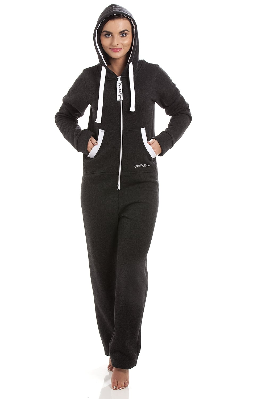 af0590c4c959 Camille Camille Sport Womens Black   White Jumpsuit Onesie - Camille ...