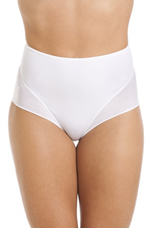 Camille White Seamless Smooth Control Briefs