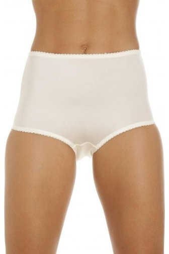 Womens Beige Control Full Support Smooth Shapewear Briefs