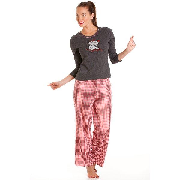 Womens elephant cotton pyjamas sizes 10 22 - Pyjama elephant ...