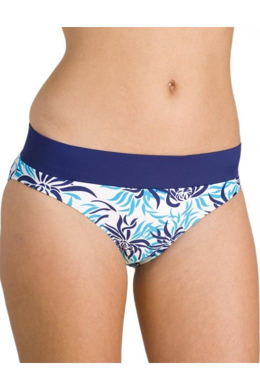 Camille Womens Ladies Azure Blue Bikini Brief
