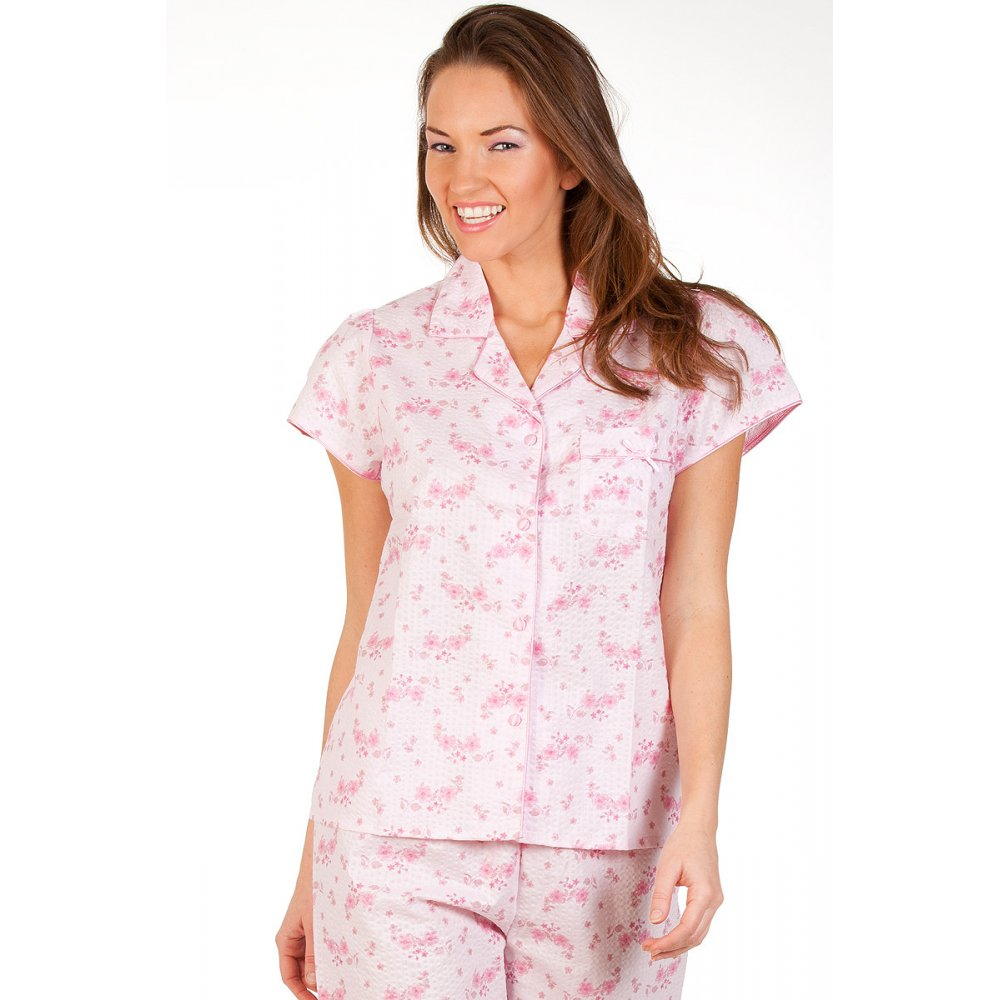 A stylish take on your loungewear, women's pyjamas in a range of designs and colours will keep you comfortable on those lazy weekends. Browse the nightwear section for luxurious lace or florals and stripes for a cosy bedtime, or slip into cute, lightweight shorts for a casual relaxed feel at home.