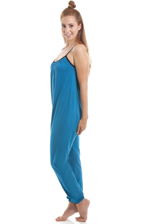 Camille Womens Sleeveless Jersey Cotton Various Colour Jumpsuit onesie d37929c18