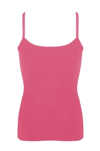 Comfort Fit Proskins Fucshia Camisole Top