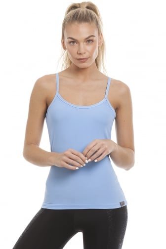 Comfort Fit Proskins Light Blue Camisole Top