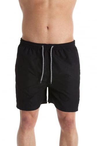Mens Black Swimming Shorts
