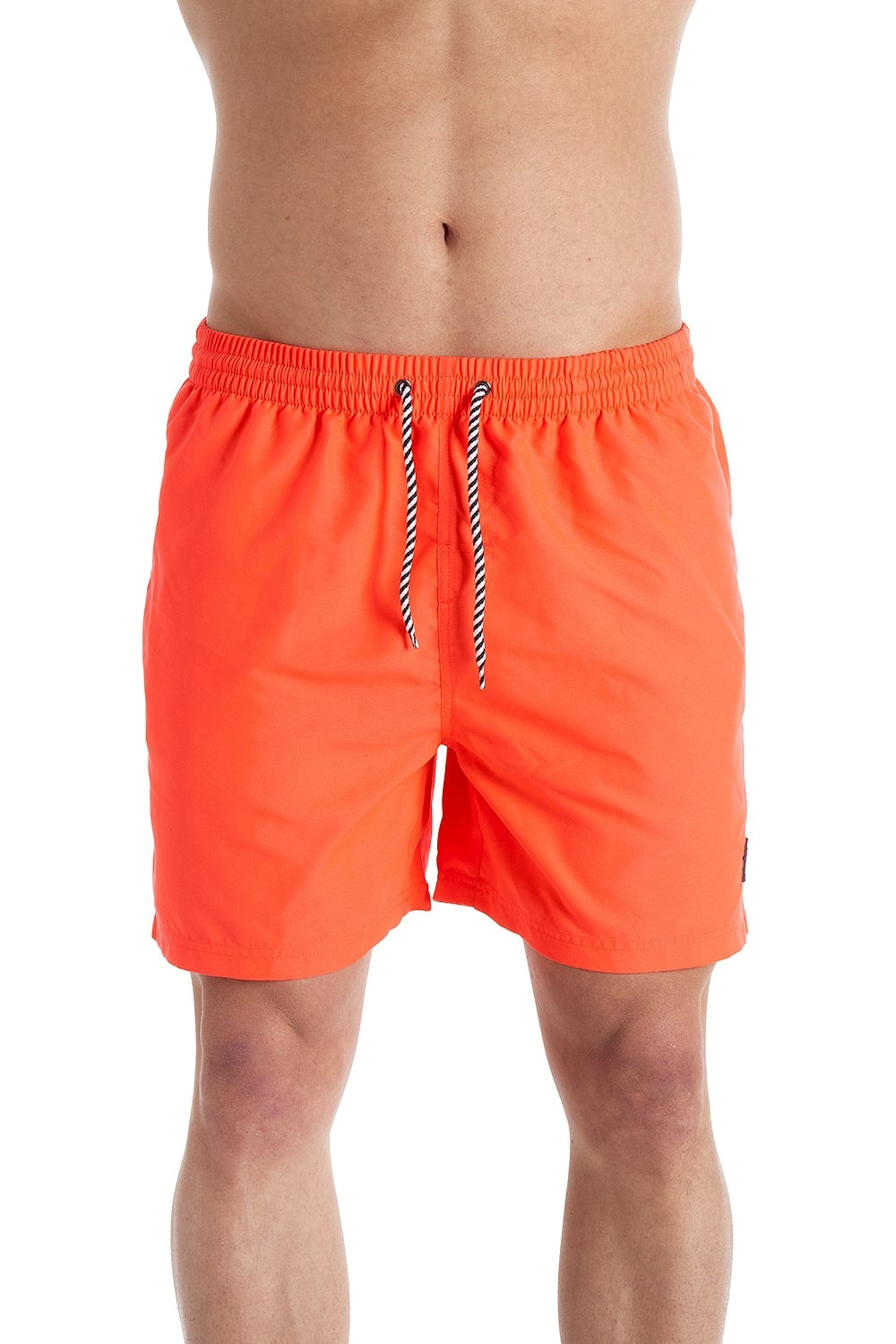 34e6b27d8e INDIAN AFFAIRS Mens Neon Coral Swimming Shorts