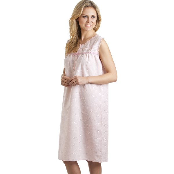 Luxury embroidered various coloured nightdress