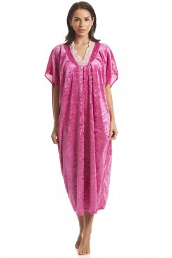 Luxury Velour Pink Kaftan