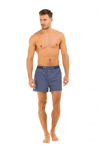 Mens Haigman 3 Pack Cotton Boxer Shorts
