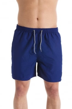 Mens Navy Blue Swimming Shorts