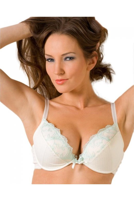 Camille Mint Underwired Padded Full Cup Bra