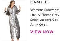Womens Supersoft Luxury Fleece Grey