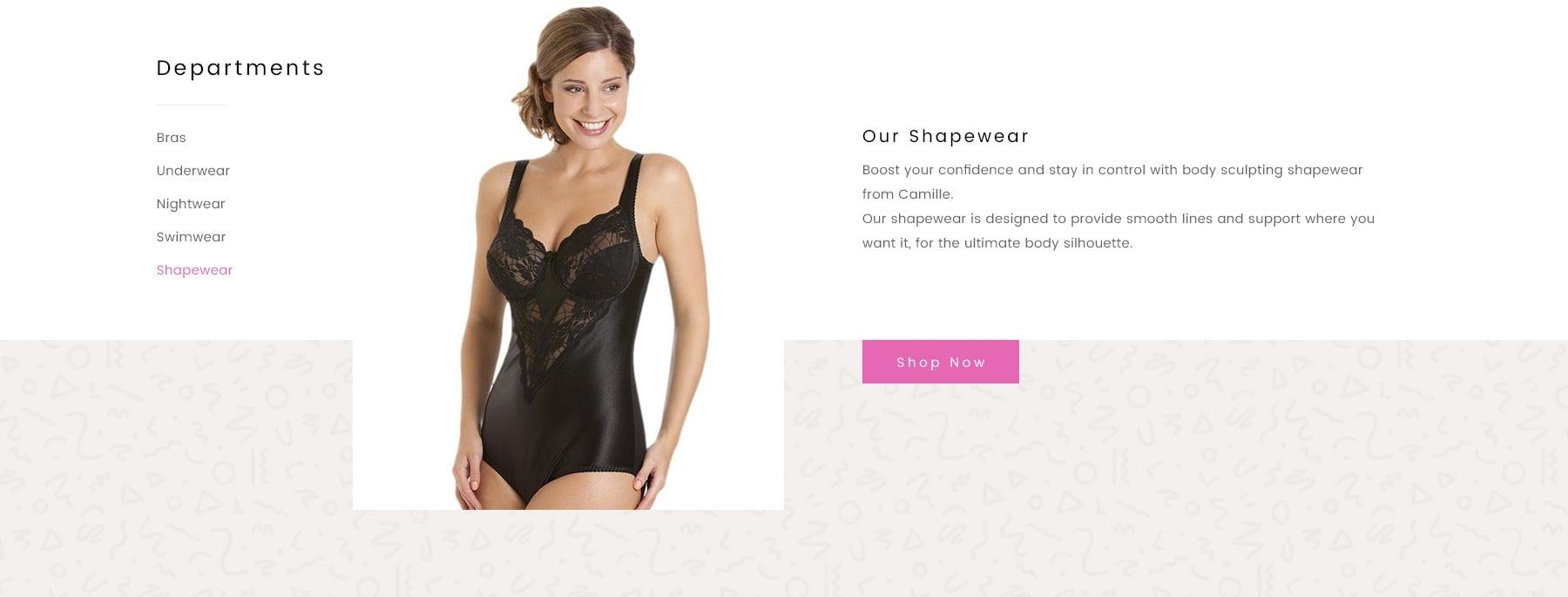 Ladies Nightwear Shapewear Lingerie Camille