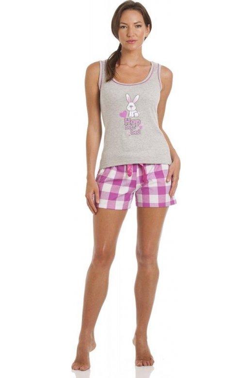 976415b74c Camille Rabbit Print Short Pyjama Set