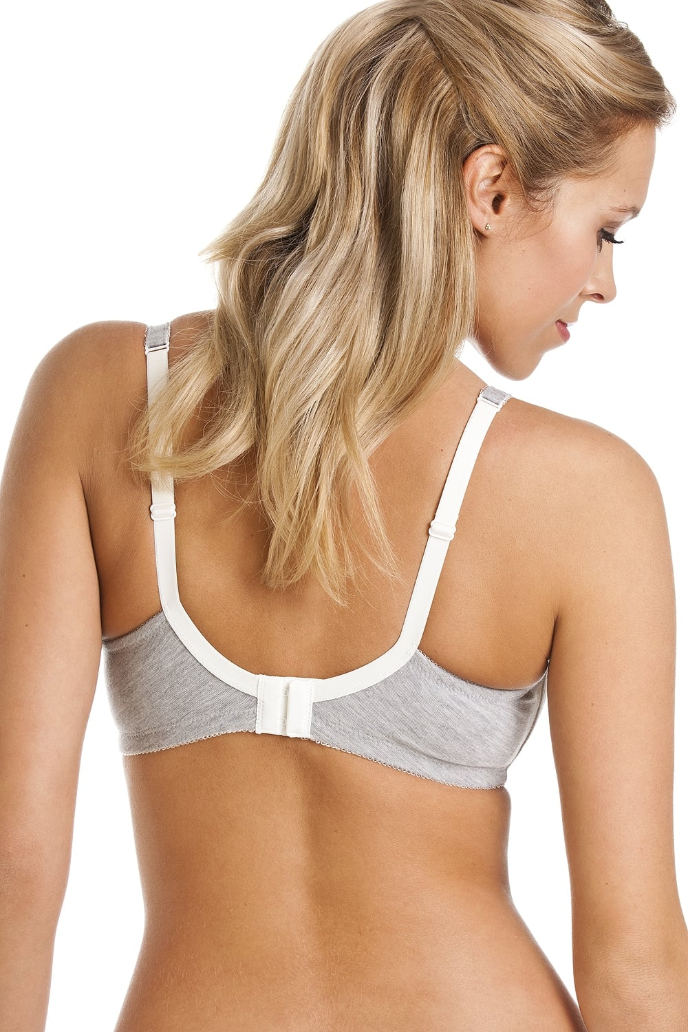 Royce Lingerie Non Wired Lightly Padded Grey Pocketed Mastectomy Bra 1c1d8cd80
