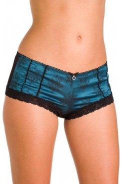 efe6ba81d2be Womens Ladies White Lace Sheer Mesh Daisy Boxer Shorts Briefs