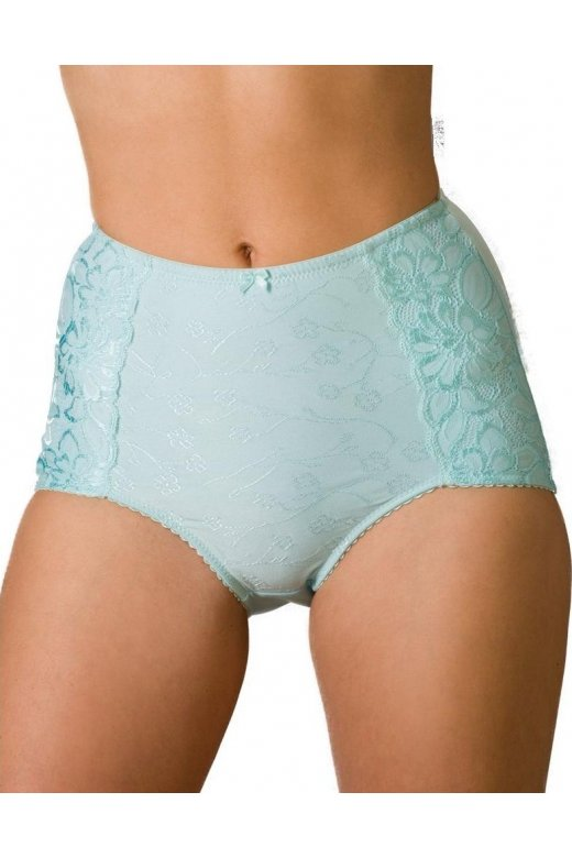 Serenity Jacquard Light Control Support Brief Blue