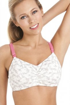 Spring Blossom Maternity And Nursing Breast Feeding Bra