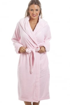 Super Soft Fleece Pink Dressing gown