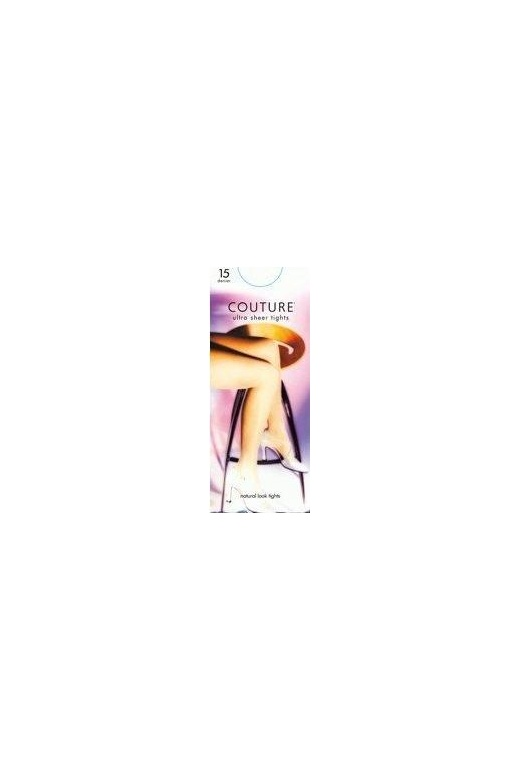 Tights Couture 15 Denier Sheer Tights Nearly Black