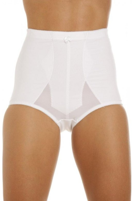 Camille White Bella Magic Firm Control Support Briefs