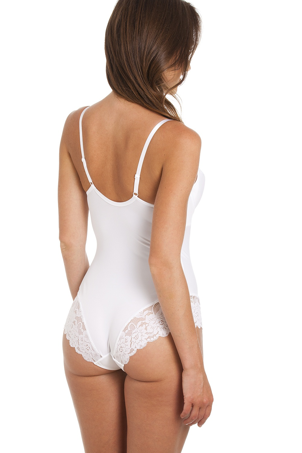 White Lace Sexy Shapewear Support Body