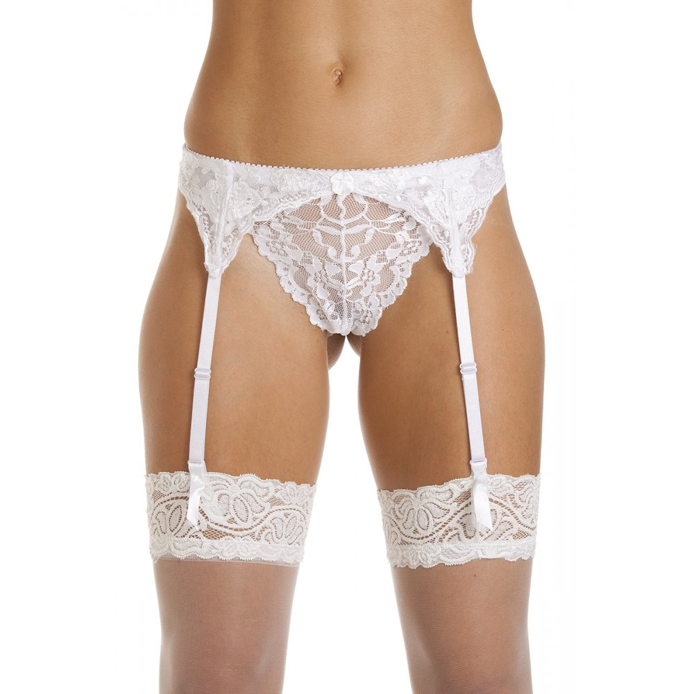 Suspender Belts Whether holding up your hosiery or turning up the heat no lingerie collection is complete without some sexy suspender belts and stockings. They are the epitome of seduction and an essential accessory when impressing in the bedroom.